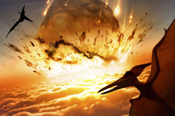 asteroide dinosauri planetario milano