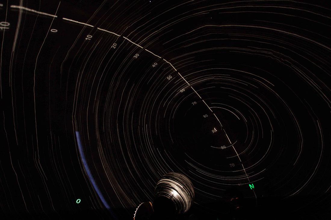 planetario portatile interno planetario milano