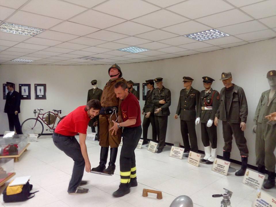 progetto museo dei vigili del fuoco planetario milano