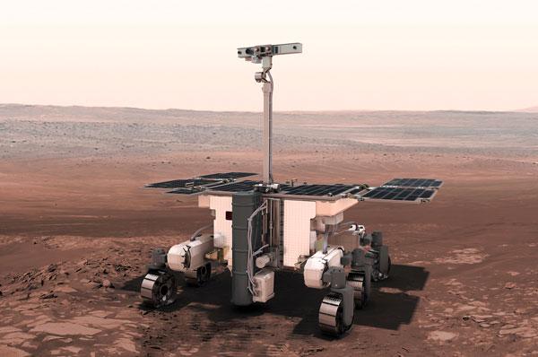 Exomars: in diretta da Marte