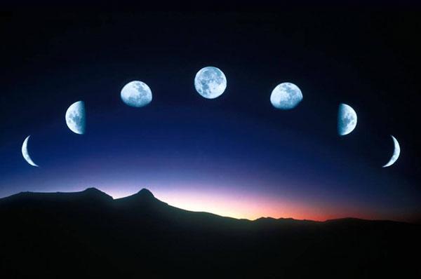 luna fasi movimenti eclissi planetario milano