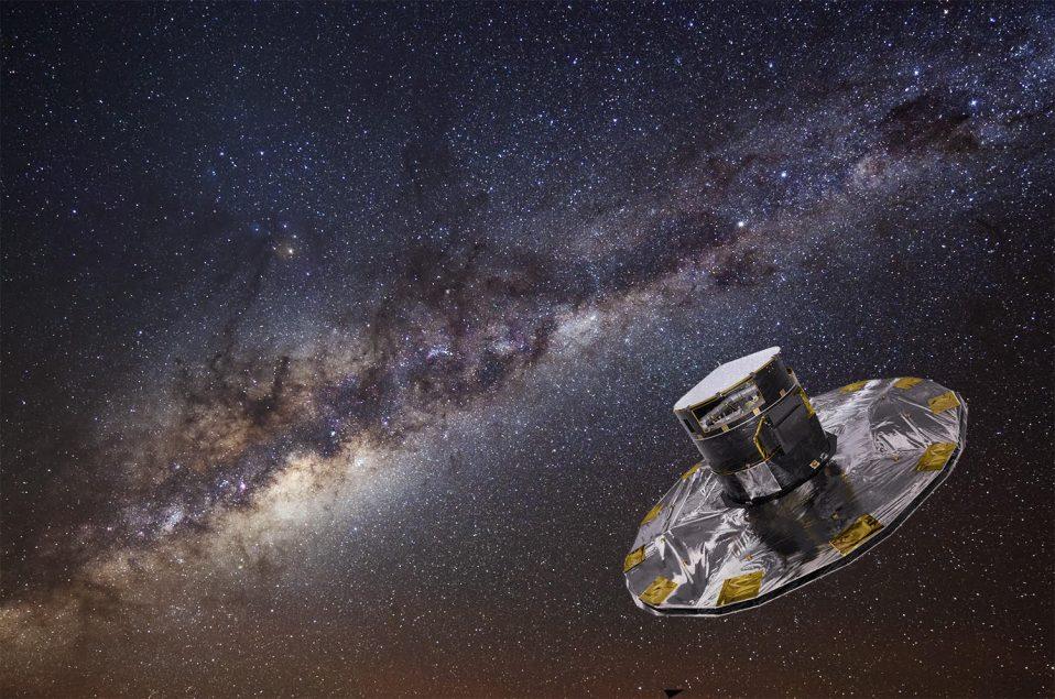 Gaia: la mappa della Via Lattea in 6 dimensioni