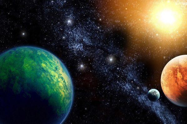 in viaggio tra i pianeti