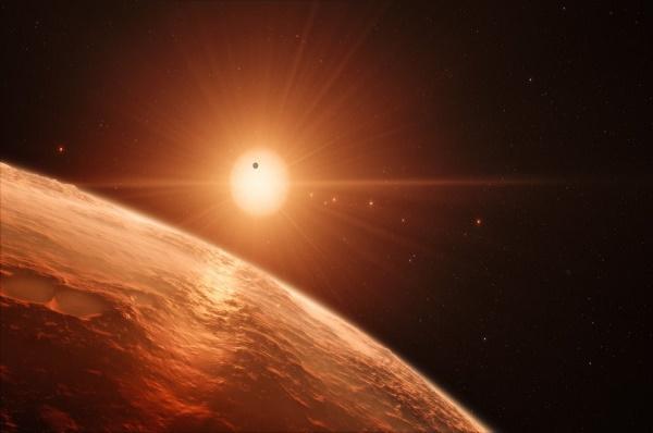 VITA POSSIBILE SUI SETTE PIANETI DI TRAPPIST-1