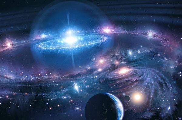 IL NOSTRO UNIVERSO: <br>DALLA TERRA ALLE GALASSIE LONTANE