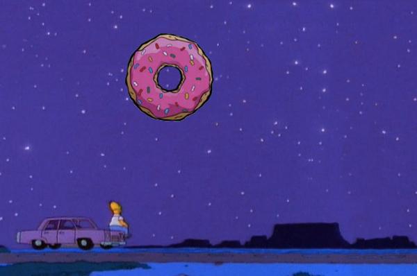L'UNIVERSO IN UNA CIAMBELLA - La scienza in giallo della famiglia Simpson