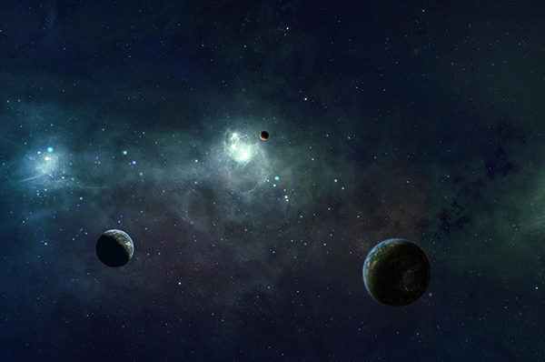 luna stelle pianeti