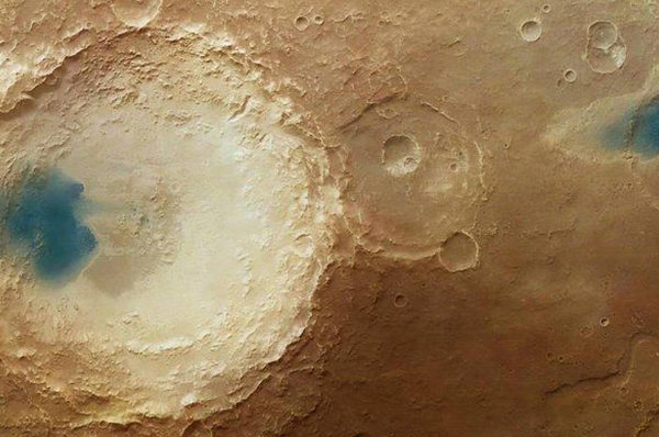 """23/10/2018 - Acqua liquida su Marte: tutta la verità. La clamorosa scoperta """"italiana"""" di laghi liquidi nel sottosuolo della calotta polare Sud Pianeti"""