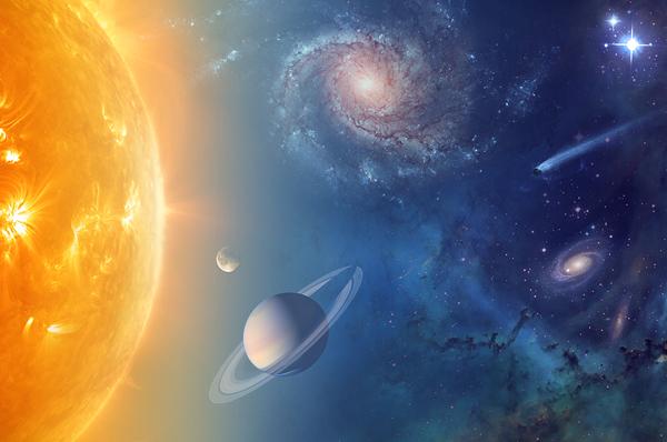 L'IMPERO DEL SOLE: <br>VIAGGIO NEL SISTEMA SOLARE