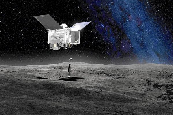 19/02/2019 - Svelati i misteri degli asteroidi carboniosi. Le straordinarie scoperte della sonda OSIRIS-REX in orbita attorno all'asteroide Bennu news