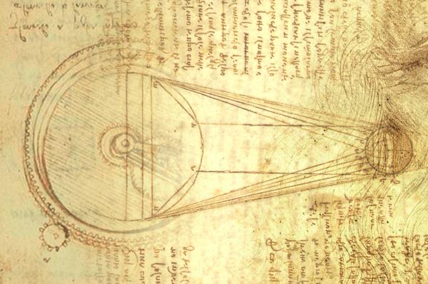 LEONARDO DA VINCI, 500 ANNI DOPO: <br>I MISTERI DELLA LUNA I PIANETI ED IL SOLE.  Dalle macchine all'astronomia di Leonardo in un'inedita visione