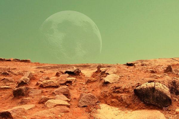 01/03/2019 - Immaginare Marte. Storia della fantascienza marziana vita su marte