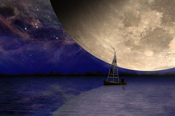 LA DISTANZA DELLA LUNA<line-height1,5> <p>di Italo Calvino </line-height1,5></p><line-height1,5><p>Racconti sotto un cielo di stelle</line-height1,5></p>