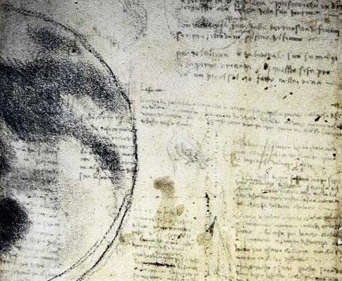 La Luna e il cielo secondo Leonardo ottica