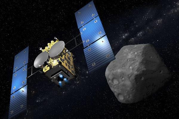 07/05/2019 - La missione giapponese Hayabusa 2 e i campioni dell'asteroide Ryugu Civico Planetario Ulrico Hoepli