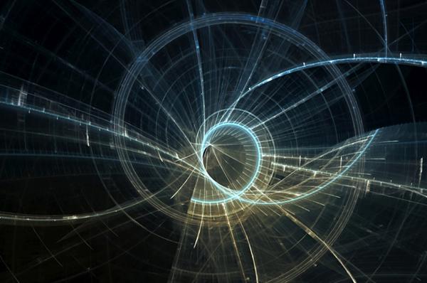 DOVE E QUANDO? <br>Evoluzione della Fisica <br>dal determinismo all'indeterminazione