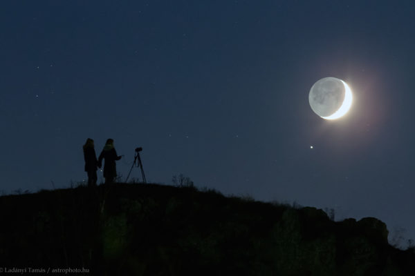 Luna, Giove e Saturno protagonisti del cielo di luglio spazio