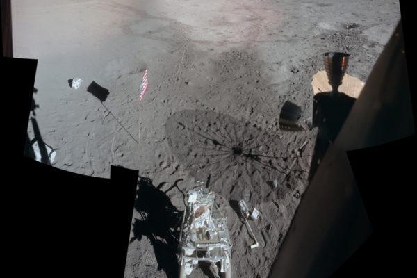 Cosa abbiamo lasciato sulla Luna? apollo