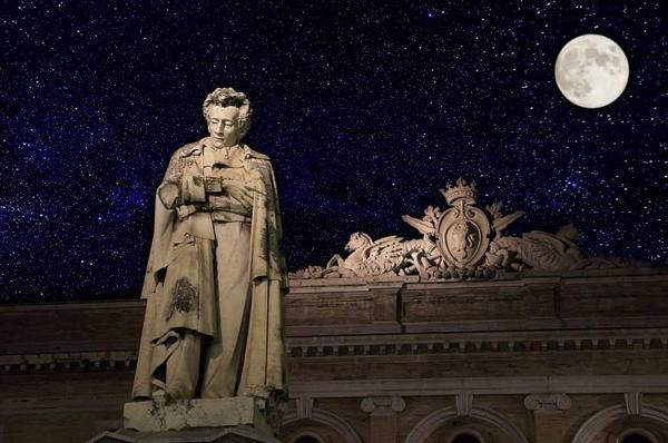 L'INFINITO E LA VISIONE ASTRONOMICA <br>DI GIACOMO LEOPARDI