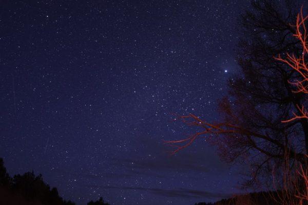 Il cielo di Ottobre stella di Barnard