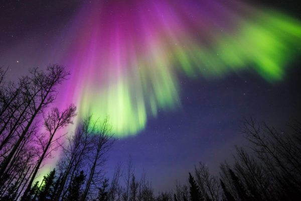Veli di luce colorata: il fenomeno delle aurore polari campo magnetico