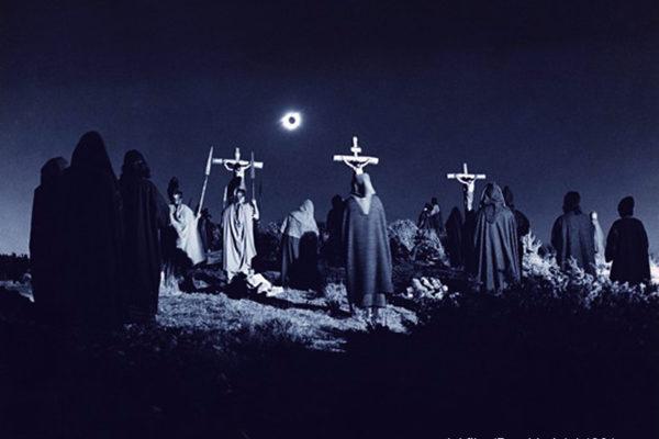 L'eclisse  della crocifissione luna