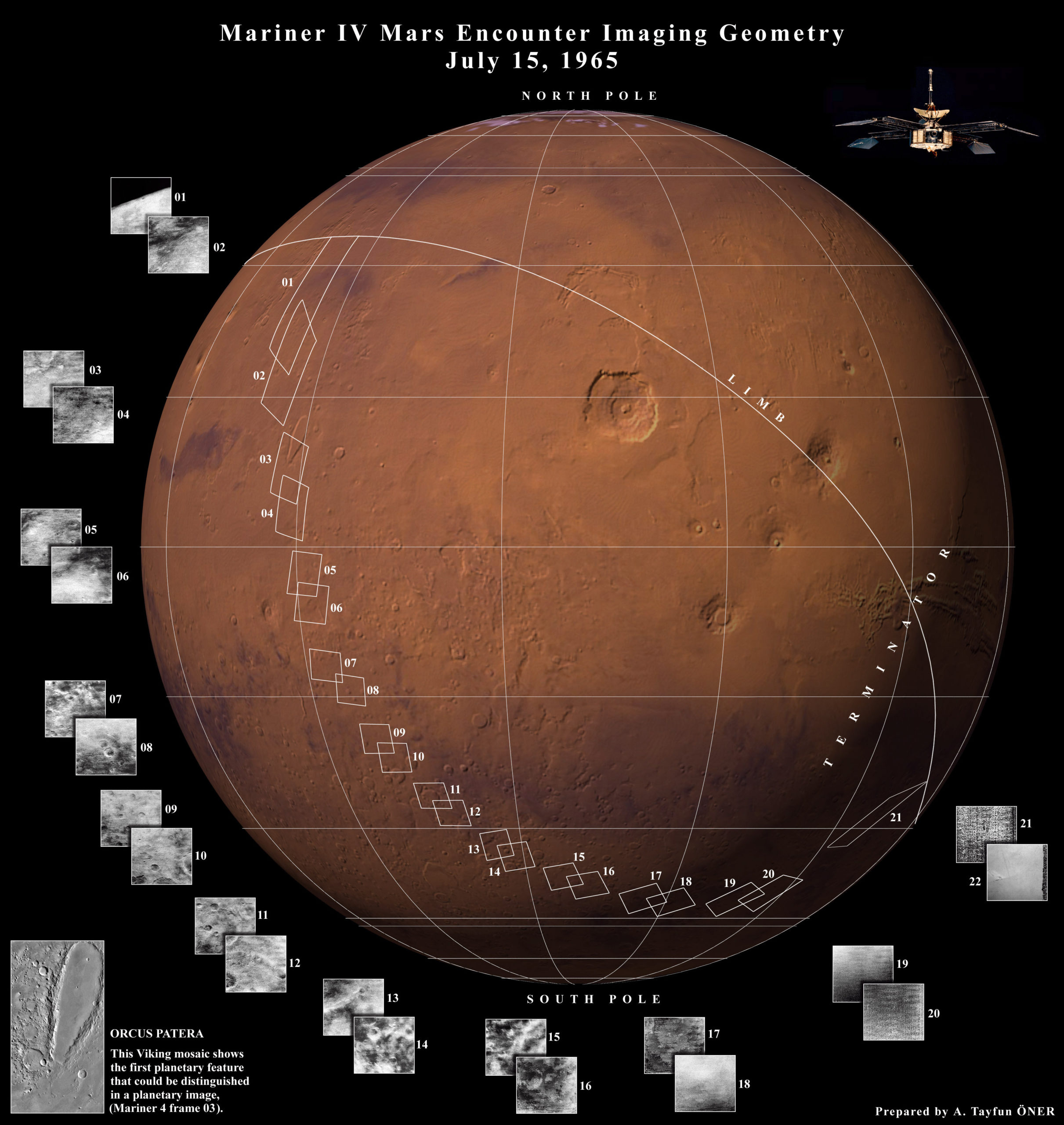 Il primo incontro ravvicinato con il Pianeta Rosso Associazione LOfficina, esobiologia, Mariner 4, Marte, missioni spaziali, NASA, news LOfficina, pianeta rosso, prima immagine, spazio, vita su marte