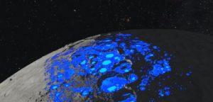 Acqua sulla luna più abbondante del previsto. 26 ottobre, acqua, acqua sulla luna, Alessia Cassetti, Artemis, astronomia, lofficina del planetario, luna, NASA, news, news LOfficina, polo sud luna, satellite, scoperta acqua sulla Luna, SOFIA, trappole acqua