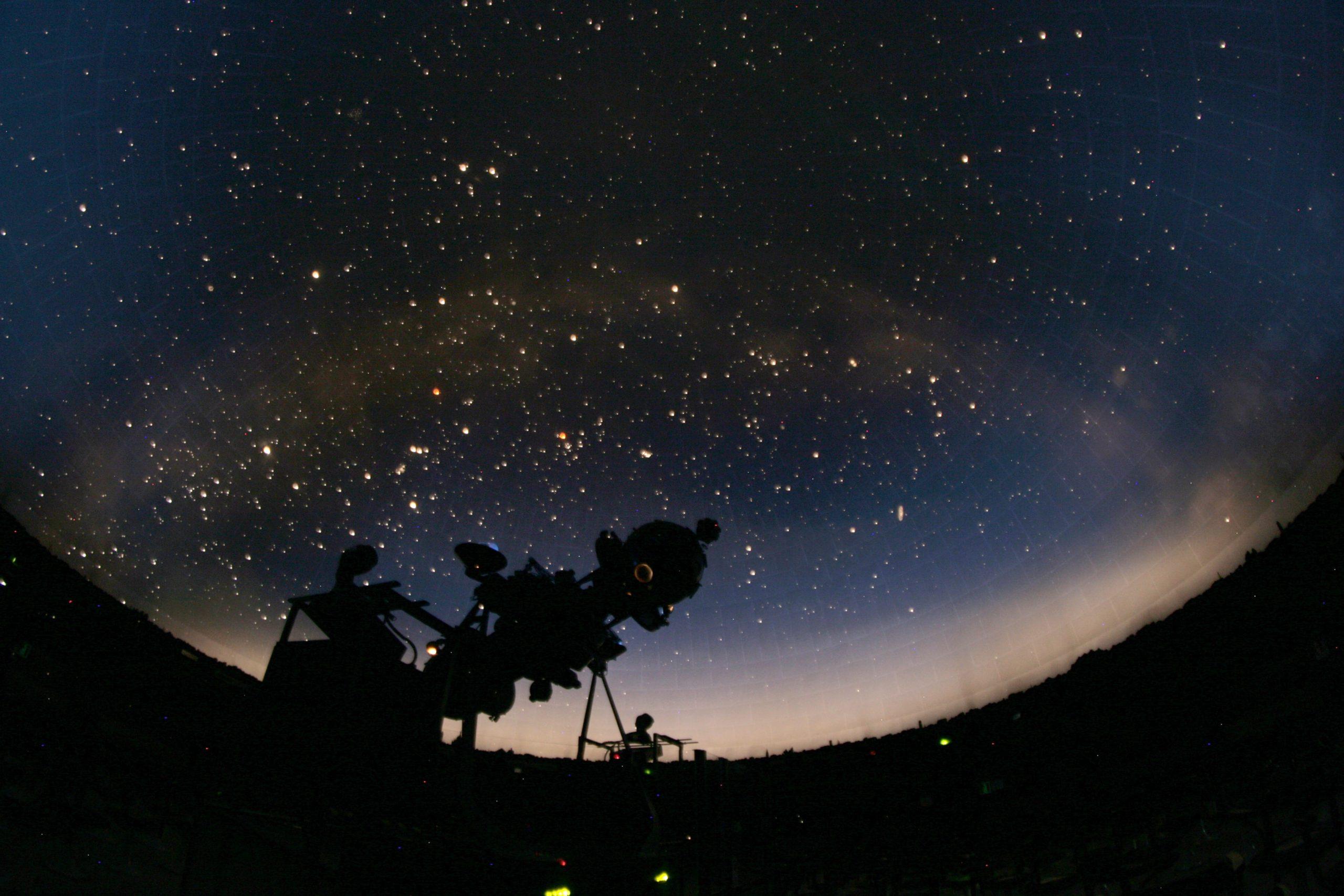 BUON COMPLEANNO PLANETARIO! <br>DALLE STELLE ALLE AURORE aurore
